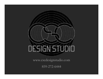www.cscdesignstudio.com 859-272-6444 - Passive House Institute US