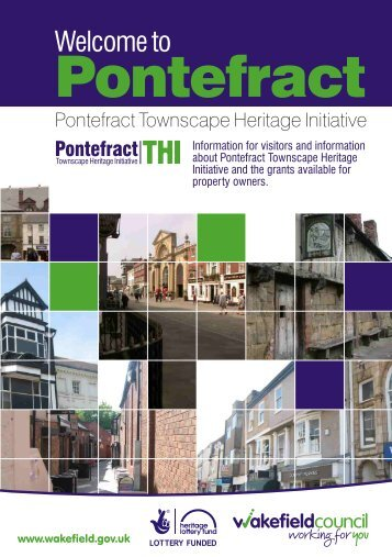 Pontefract Visitor Booklet A5 new 2