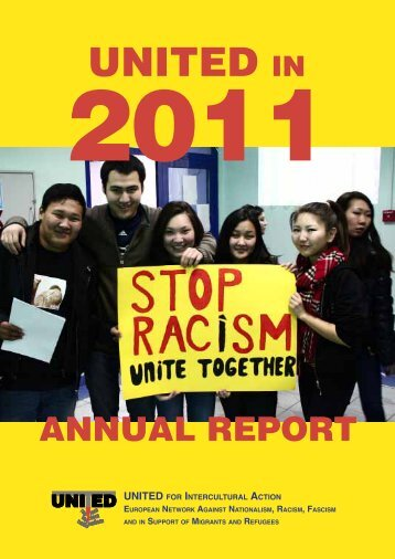 Annual Report 2011 - UNITED for Intercultural Action