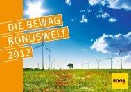 DIE BEWAG BONUSWELT 2012 - Energie Burgenland