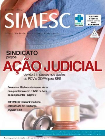 11 - Sindicato dos Médicos do Estado de Santa Catarina