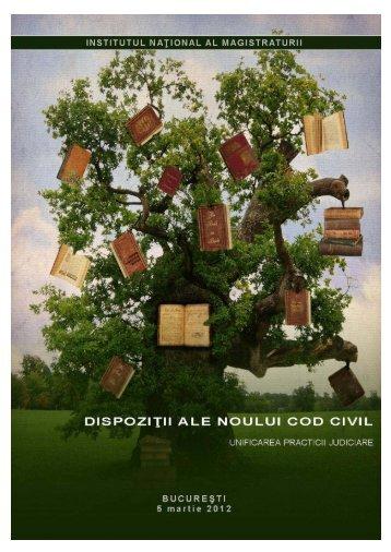 Unificarea practicii neunitare - Dispozitiile noului Cod civil.pdf