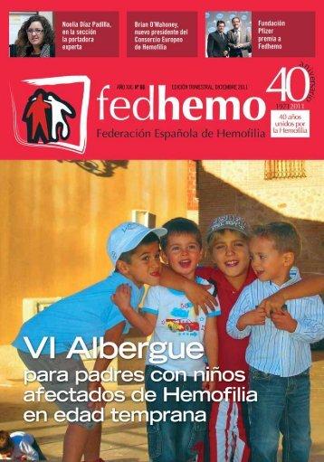 Revista Fedhemo nº 60 - Hemofilia
