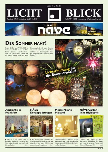 LICHT BLICK - Näve Leuchten GmbH