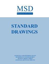 standard drawings cover - MSD