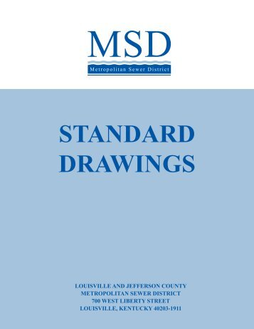 standard drawings cover - MSD