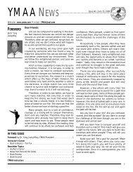 YMAA News #46, June 1998 (124Kb)