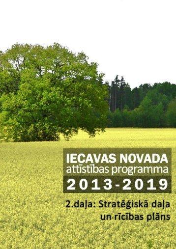 Attīstības programma - Iecavas novads
