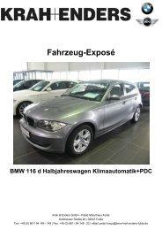 Fahrzeug-Exposé - Autohaus Fulda Krah und Enders GmbH