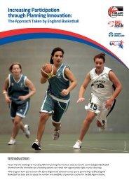 England Basketball Case Study - sports coach UK