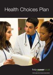 Health Choices Plan GP02386 - helpucover