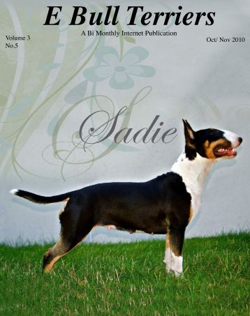 Download Oct /Nov Edition in PDF - E Bullterriers