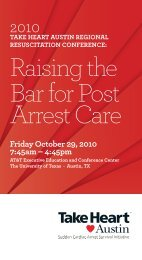 Friday October 29, 2010 7:45am – 4:45pm - St. David's HealthCare