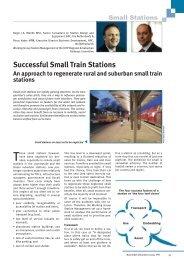 Successful Small Train Stations