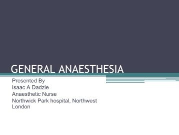 GENERAL ANAESTHESIA.pdf - MOTEC LIFE-UK