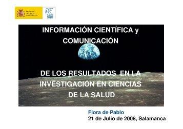 La investigación biomédica - Bibliotecas Universidad de Salamanca