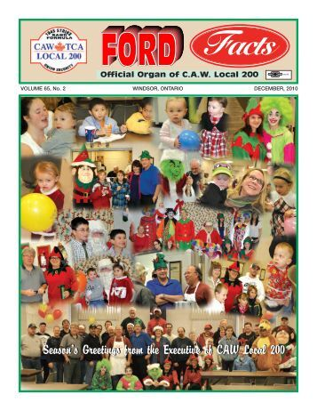 FORD FACTS NEWS - CAW Local 200