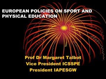 Margaret TALBOT - EWS European Women and Sport