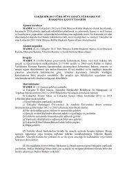 MADDE - (1) Eskişehir'i 2013 yılı Türk Dünyası Kültür Başkenti ...