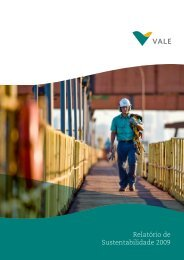 Relatório de Sustentabilidade 2009 - Vale.com
