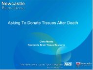 Asking To Donate Tissues After Death