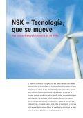 NSK – siempre donde nos necesite. Con soluciones para el futuro. - Page 4