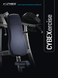 CYBEX - PLATE LOADED, FREE WEIGHTS & MODULAR