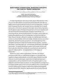 questioning conventional migration concepts - COMPAS - University ...