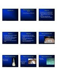 Laboratory #2 Plastic Maxillary Central Incisor Project: #1 Objectives ...