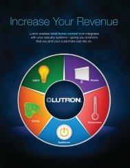 Increase Your Revenue - Lutron