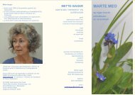 mette isager - Marte Meo