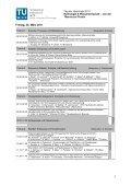 detaillierte Programm - Tag der Hydrologie 2011 - Technische ... - Page 5