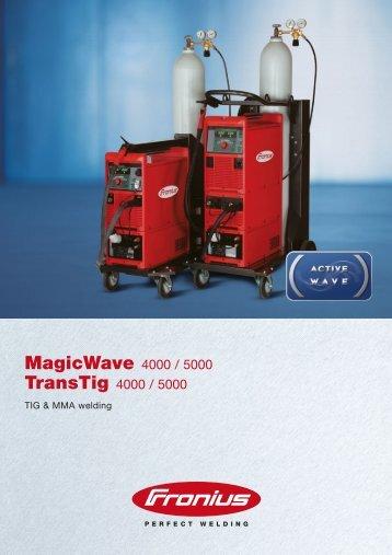 MagicWave 4000 / 5000 TransTig 4000 / 5000 - Ambitex