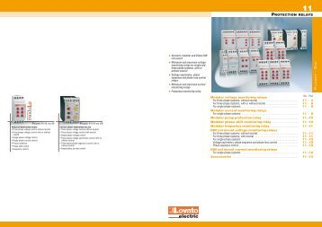General catalogue 2009-10 - Protection relays