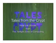 Tales from the Crypt - Acendex