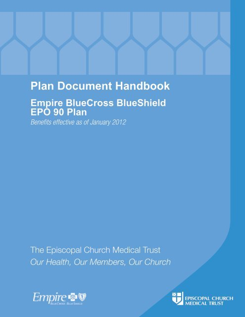 Buy Up Plan Handbook: Empire BlueCross BlueShield EPO 90
