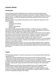 PASSIVE DESIGN Introduction Theory