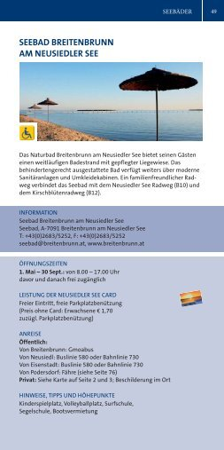 seebad breitenbrunn am neusiedler see - Podersdorf am See