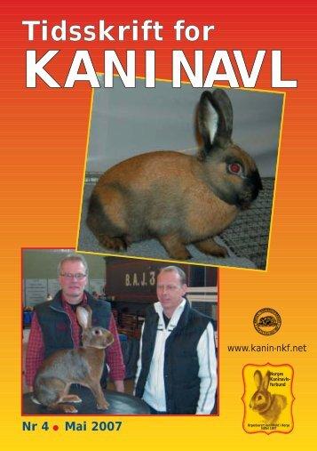 TK nr. 4 - Norges Kaninavlsforbund