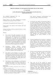 Authorisation Directive 2002/20/EC - EUR-Lex