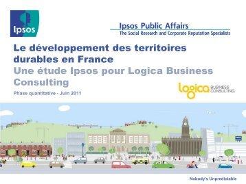 Le développement des territoires durables en France - Smart Grids