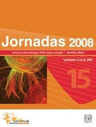 Septiembre 22 al 26, 2008 - Instituto de Neurobiología