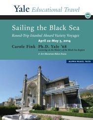 Sailing the Black Sea - Yale University