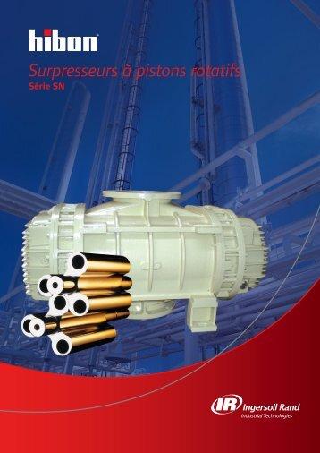 Surpresseurs à pistons rotatifs - Hibon