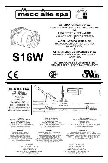 Fine Mecc Alte Spa Wiring Diagram Auto Electrical Wiring Diagram Wiring 101 Ferenstreekradiomeanderfmnl