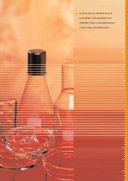 5 gläser für die mikrobiologie glassware for microbiology verrerie ...