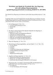 Merkblatt zum Inhalt des Protokolls über eine Begasung ... - Vorarlberg