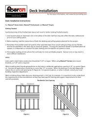 Deck Installation - Barker Lumber Co.