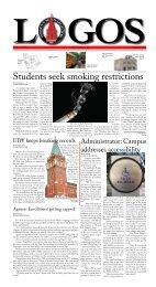 September, 2011 - University of the Incarnate Word