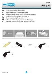 Fitting Kit - Whispbar